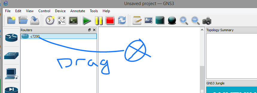 Getting started with GNS3 (Installation and configuration